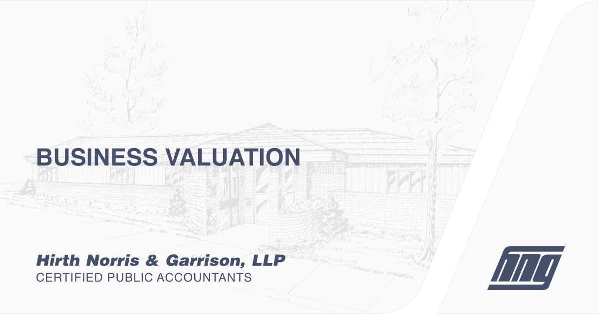 Business Valuation Hng Cpa